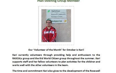 Volunteer of the Month – October