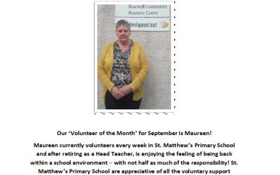 Volunteer of the Month – September
