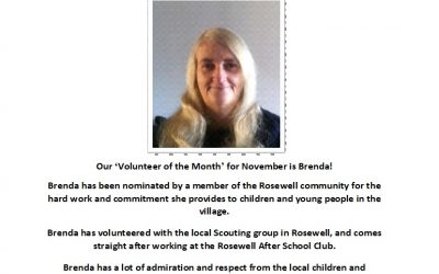 Volunteer of the Month – November