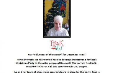 Volunteer of the Month – December