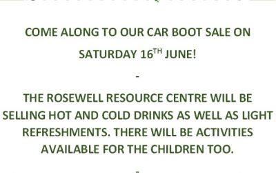 Book your space or mark the date in your diary for our Car Boot Sale in June!